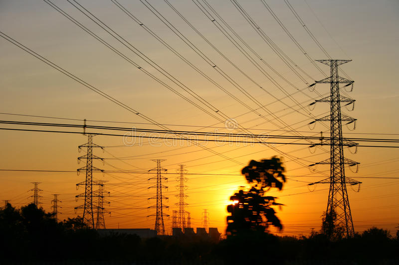 Download Power transmission line stock photo. Image of tension - 43078366
