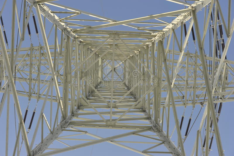Power Transmission Pylon stock photos
