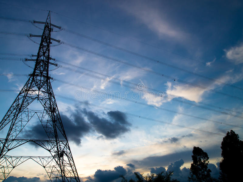 Download Power Transmission And Supply Stock Image - Image: 20082073