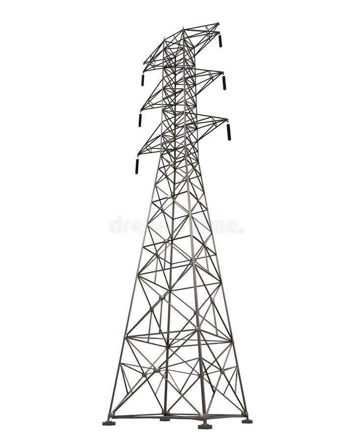 Power Transmission Tower vector illustration