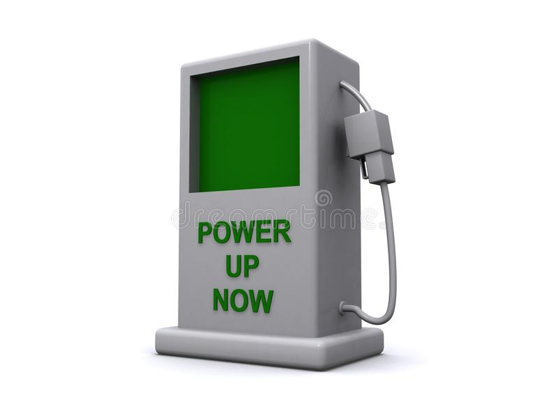 Download Power up now stock illustration. Image of power, green - 29517076