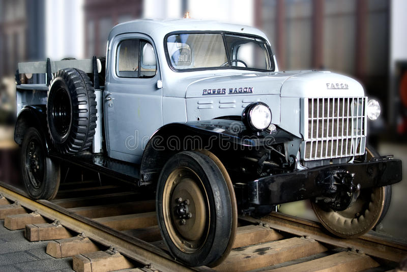 Power wagon stock images