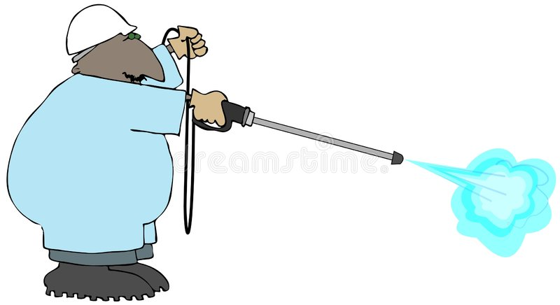 Power Washer vector illustration