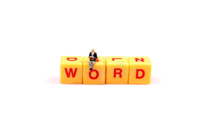 Power Of Word Royalty Free Stock Photos