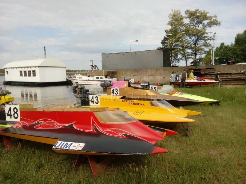 powerboat obrazy stock