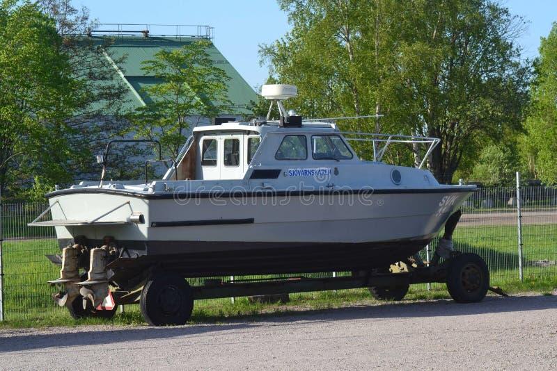 powerboat fotografia stock