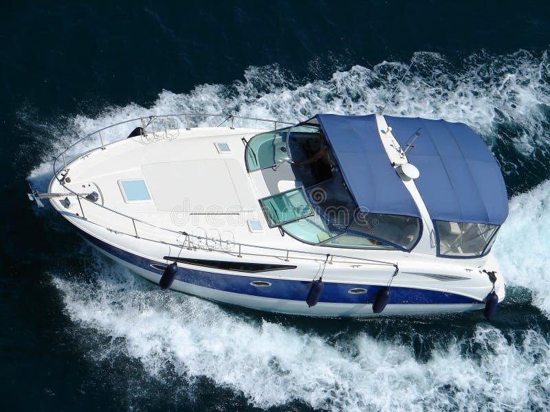 powerboat obraz stock