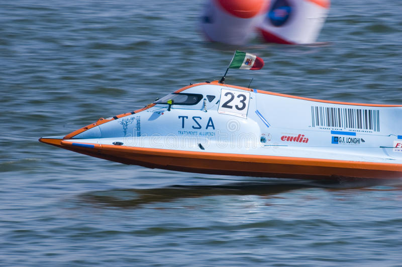 Powerboat Championship in China stock photo