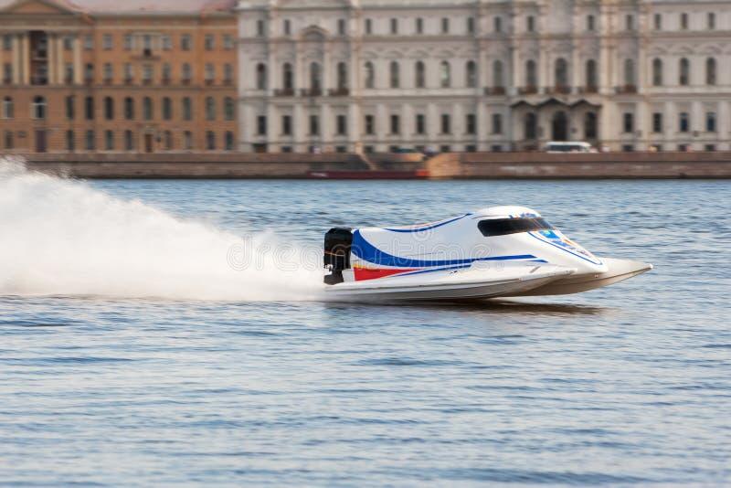 Powerboat op kampioenschap royalty-vrije stock foto