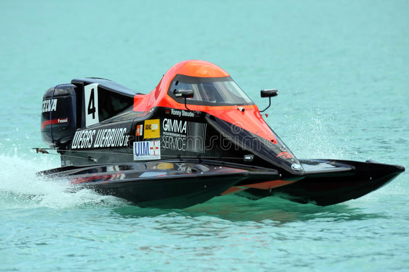 Powerboating F1000 Europe Championship. Steudel stock photo