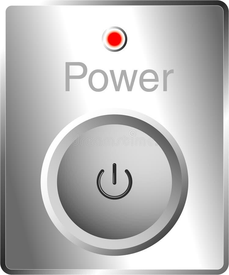 powerbutton vektor illustrationer