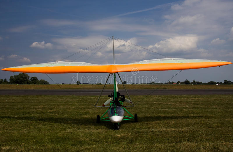 Download Powered glider stock image. Image of airscrew, aeroclub - 22636369