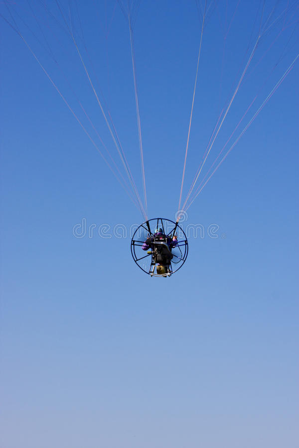 Download Powered paraglider stock photo. Image of lift, glide - 14232078