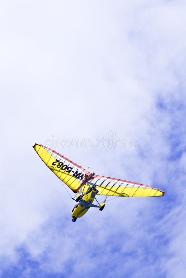 Free Powered Paraglider Stock Photography - 2903782