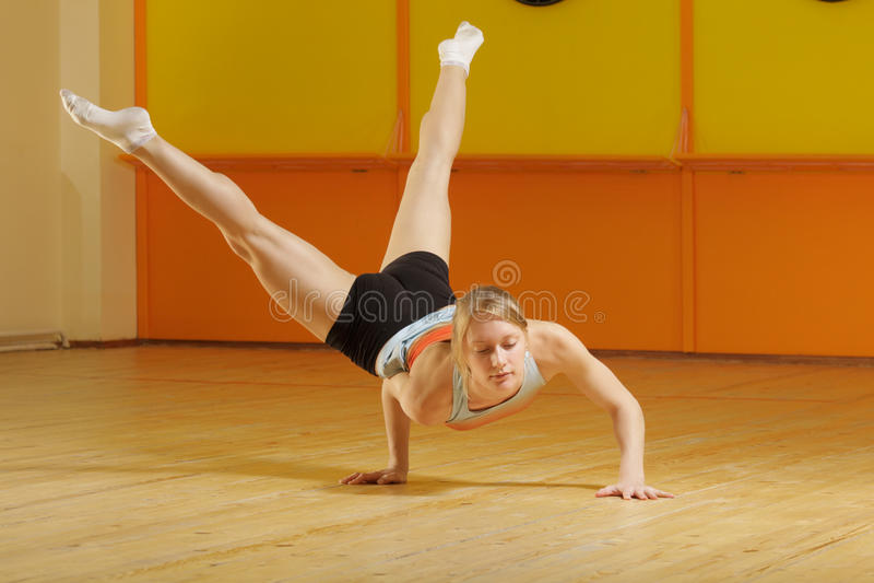 Download Powerful blonde stock image. Image of woman, caucasian - 25435551