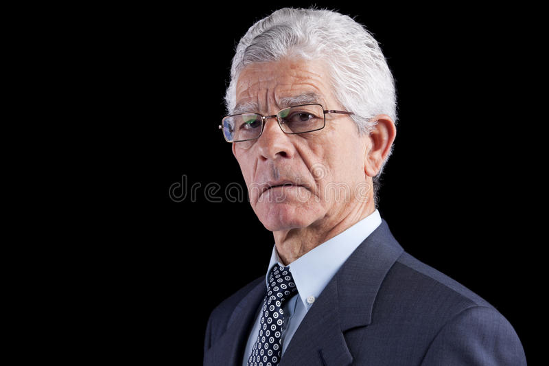 Powerful businessman stock photography