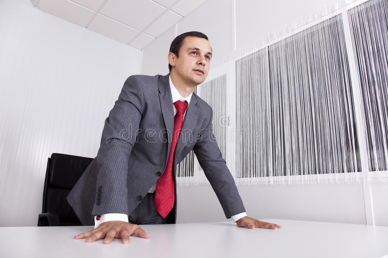 Download Powerful Businessman At The Office Royalty Free Stock Images - Image: 16110759