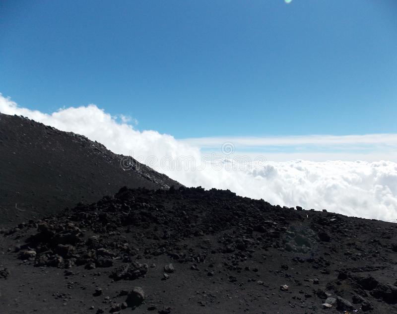 Powerful Etna, Sicily royalty free stock image