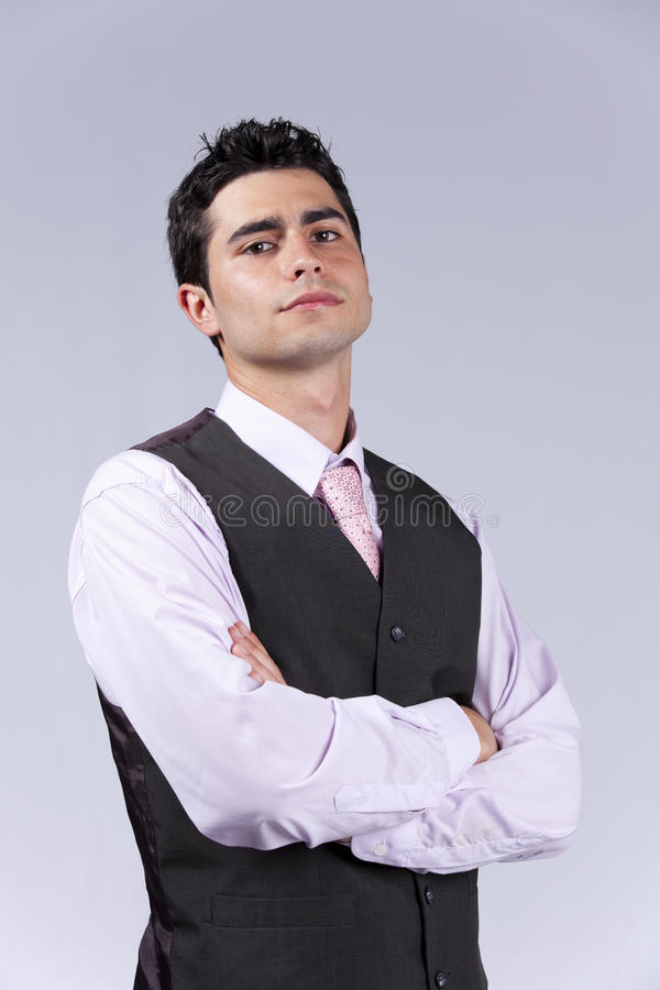 Download Powerful Handsome Businessman Stock Image - Image: 19689729