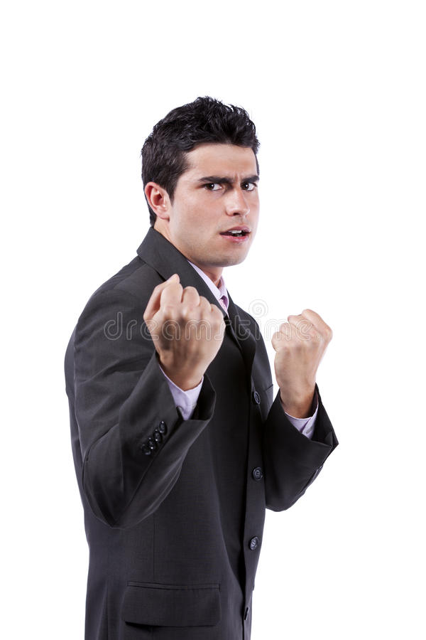 Download Powerful Handsome Businessman Stock Photo - Image: 20691760