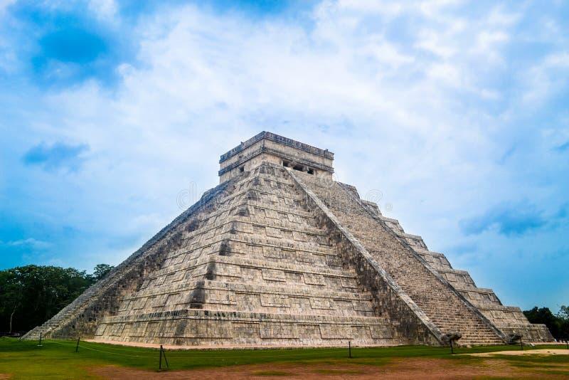 Powerful pyramid stock image