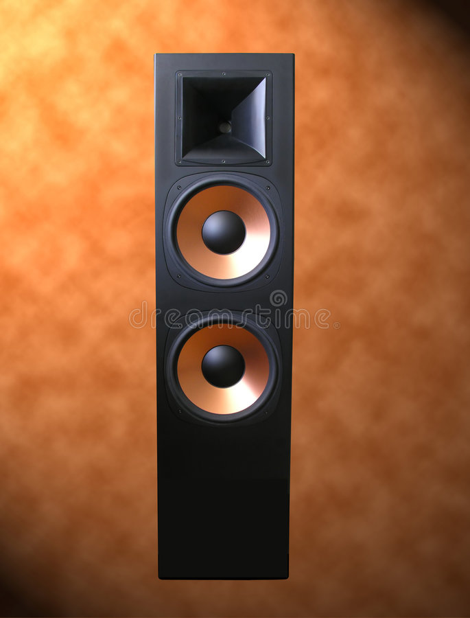 Powerful Quality Speaker royalty free stock image