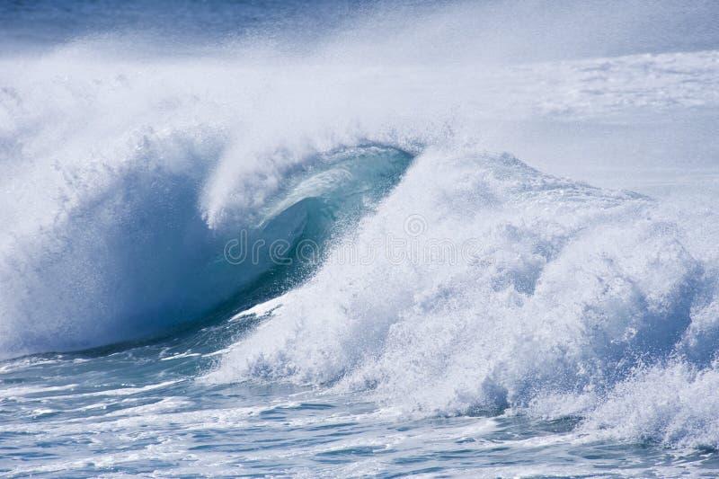 Powerful Waves Stock Photo