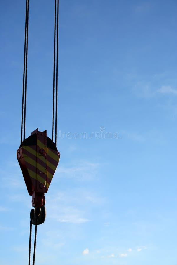 Powerfull crane (detail) - serie stock photography