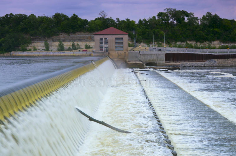 Download Powerhouse And Dam Spillway Stock Photo - Image of scenic, energy: 25234494