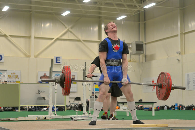 Download Powerlifting Event - Deadlift Lift Editorial Photography - Image: 31456977