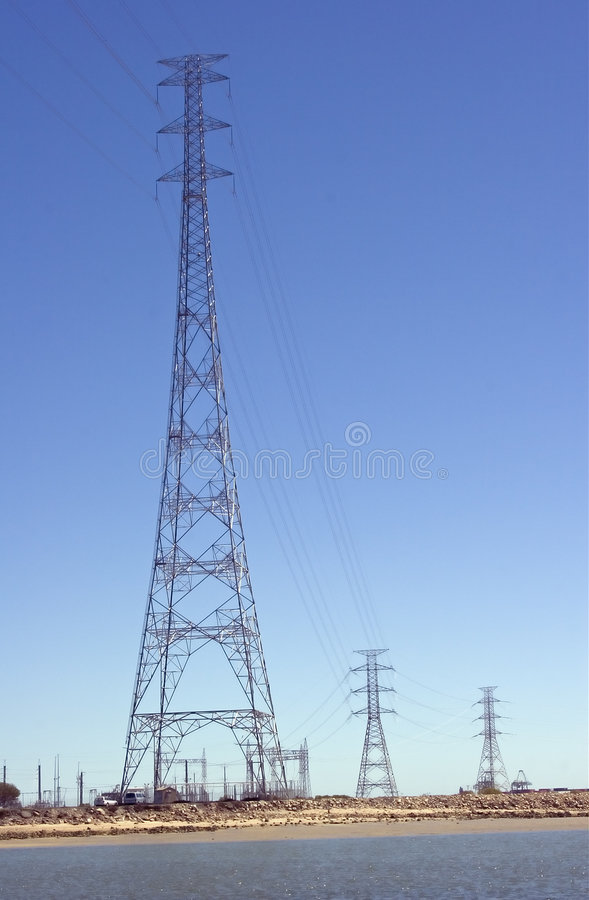 Download PowerLine stock image. Image of tower, industrial, energy - 2273649