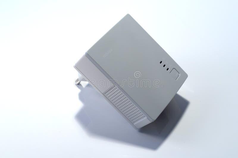 Powerline net adaptor. 500M for 230V royalty free stock photo