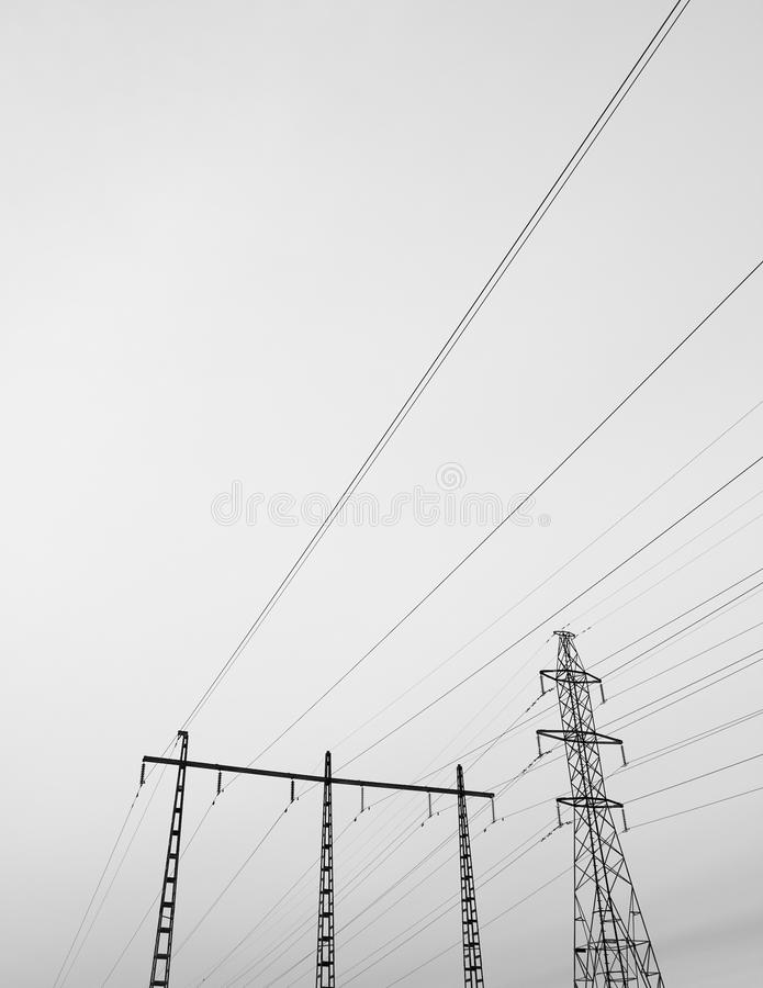 Download Powerlines Stock Images - Image: 19330304