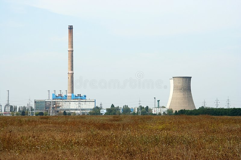 Download Powerplant stock image. Image of high, corporation, current - 242419
