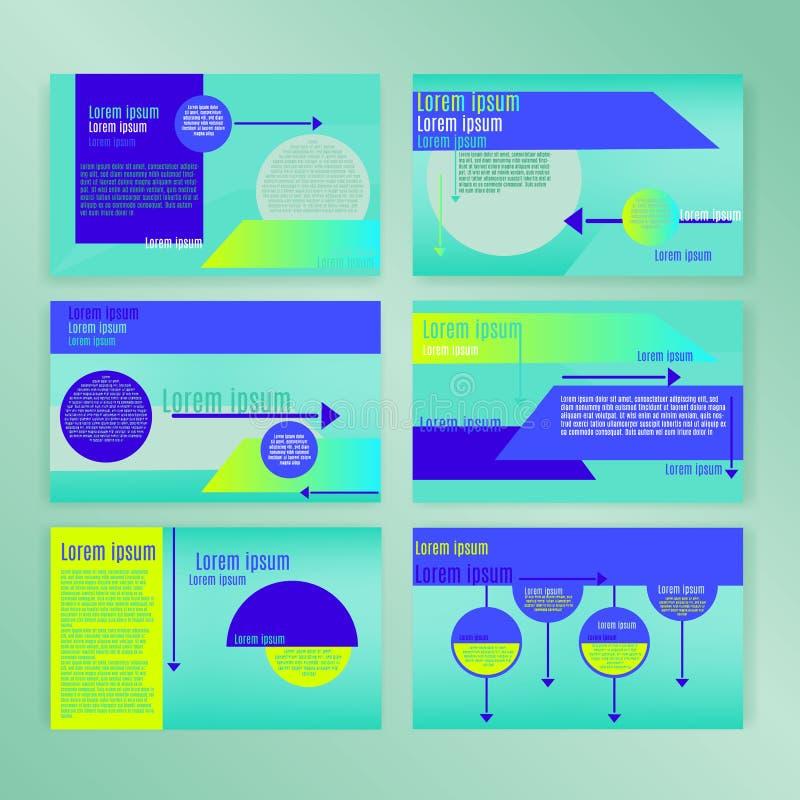 Powerpoint幻灯片显示模板集合 能用于创造性的飞行物和样式信息横幅,时髦战略大模型 皇族释放例证