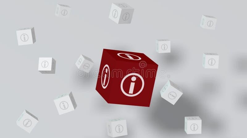 Powerpoint-Informations-Paket lizenzfreie stockbilder