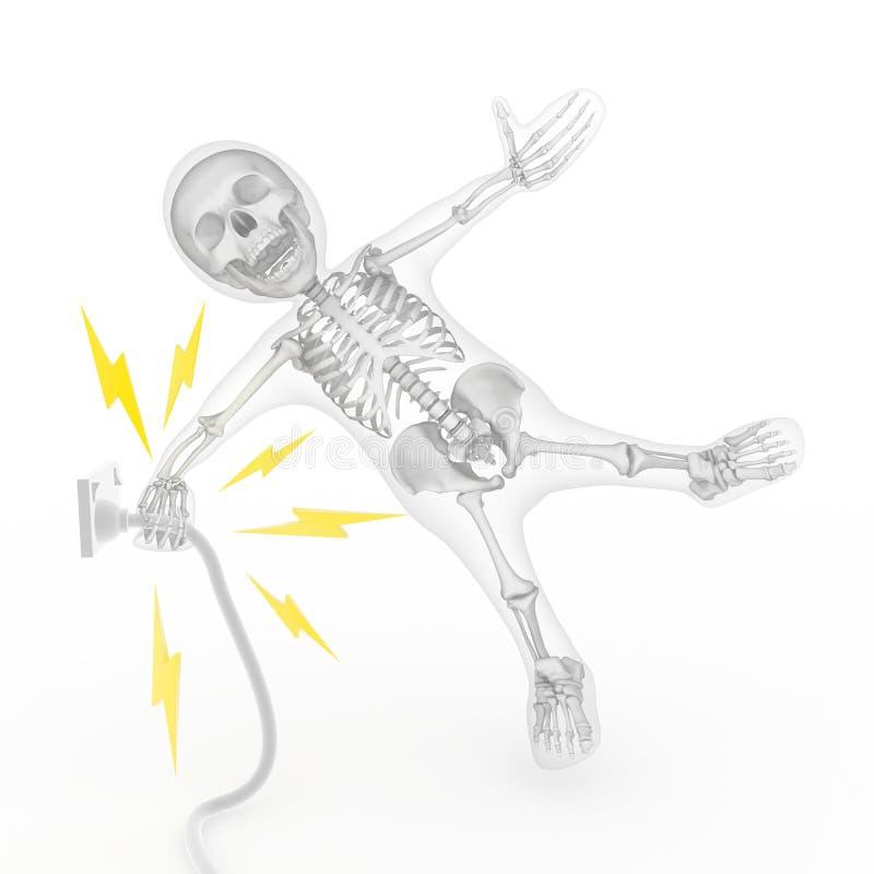 powerpoint shock stock illustrationer