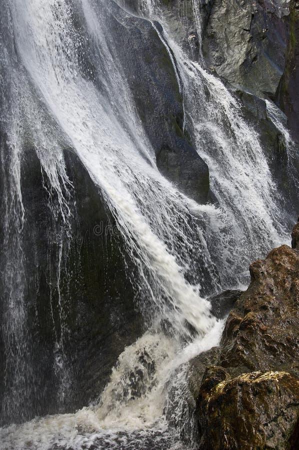 Powerscourt瀑布 库存照片