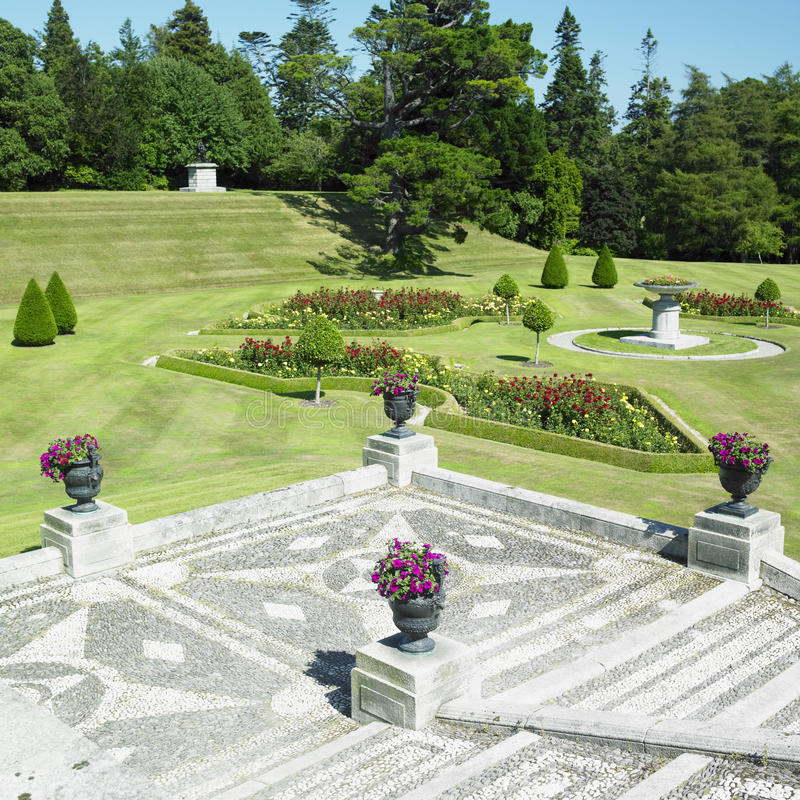 Powerscourt Gardens royalty free stock images