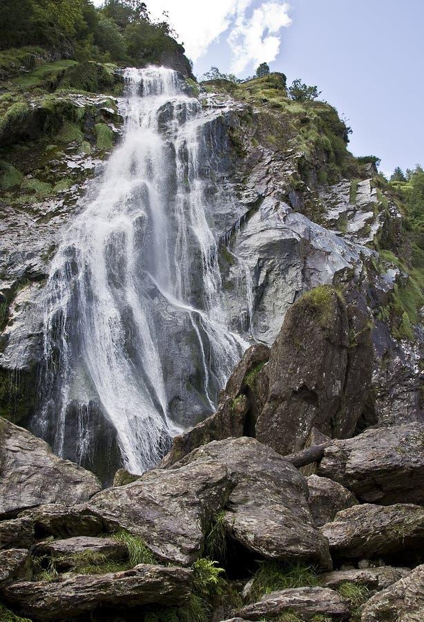 Download Powerscourt Waterfall stock image. Image of ireland, irish - 26037017