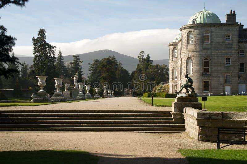 Powerscourt-Zustand, Enniskerry, Grafschaft Wicklow, Irland lizenzfreies stockfoto