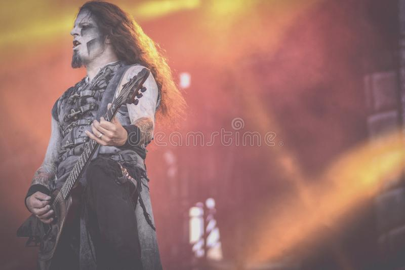 Powerwolf, Greywolf live concert Hellfest 2017. Powerwolf is a German power metal band created in 2003 by Charles and Matthew Greywolf. The group is notable for stock images