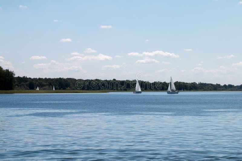 Powidz Lake royalty free stock images