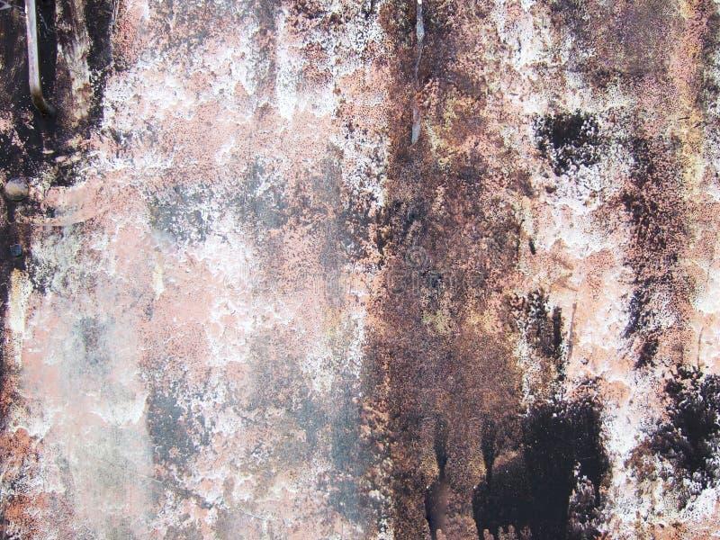 powierzchni metalicznej farby brudna fotografia royalty free
