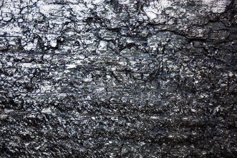 Powierzchnia czarny węgiel obrazy royalty free