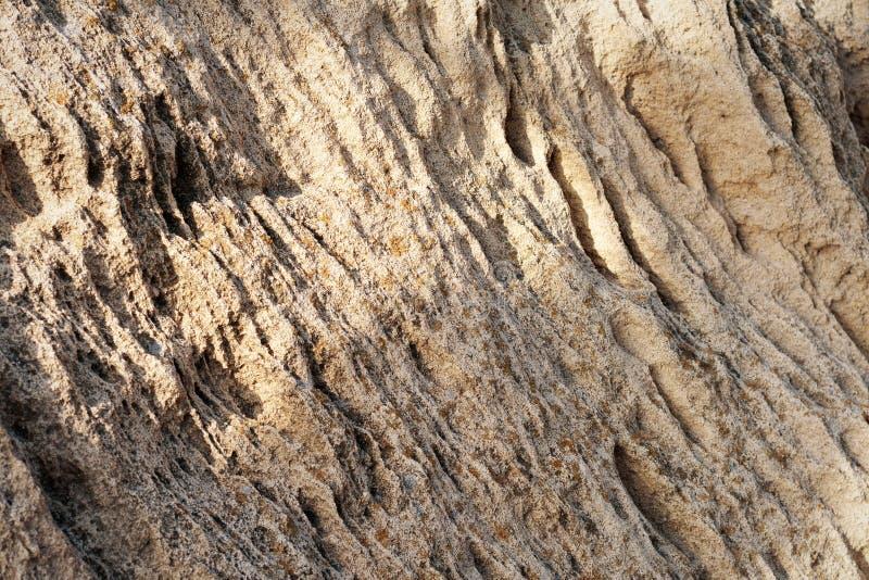 Powierzchnia piaskowca fotografia stock