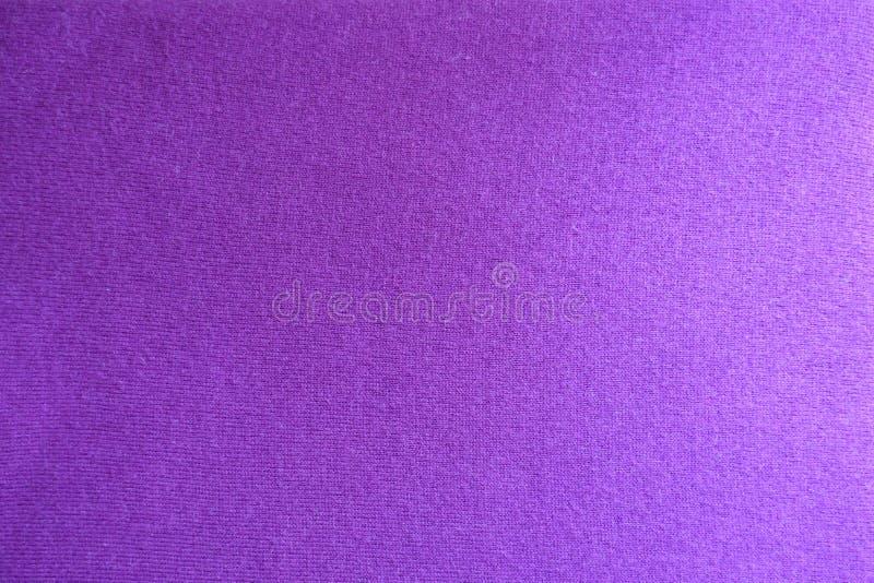 Powierzchnia różowawego fiołka trykotowa tkanina obrazy stock