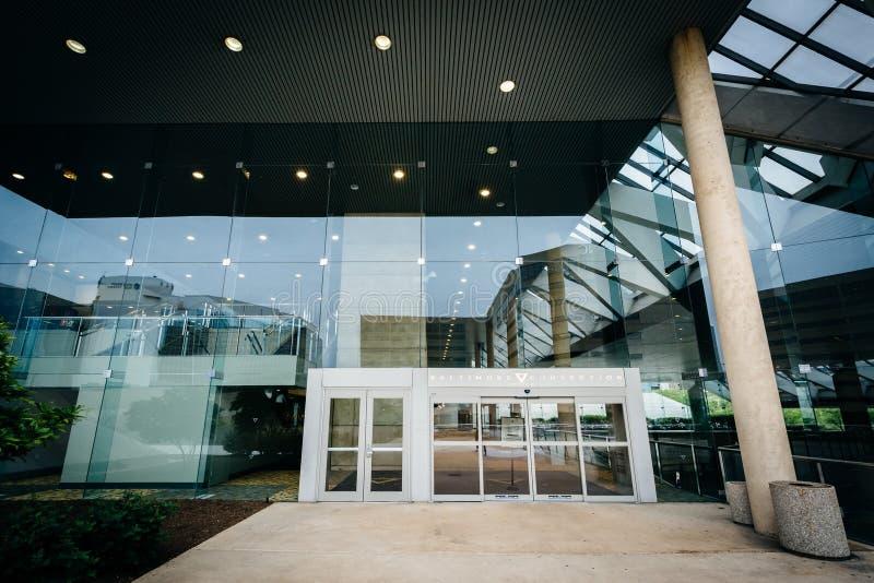 Powierzchowność convention center w Baltimore, Maryland obrazy stock