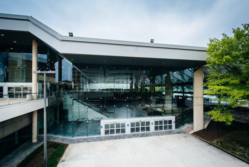Powierzchowność convention center w Baltimore, Maryland zdjęcia royalty free