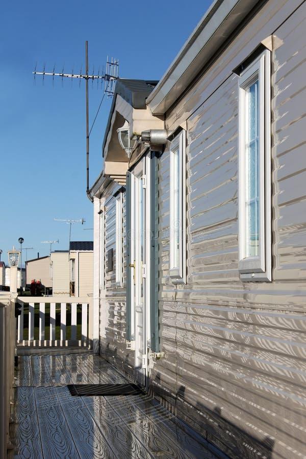 Powierzchowność dom na kółkach obrazy stock